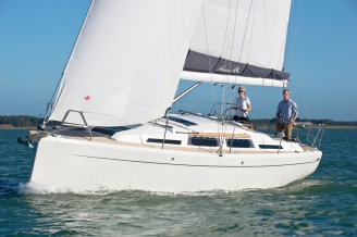 Hanse 345 photo shoot, The Solent, September 28/29 2012 Photo Rick Tomlinson/Hanse Group